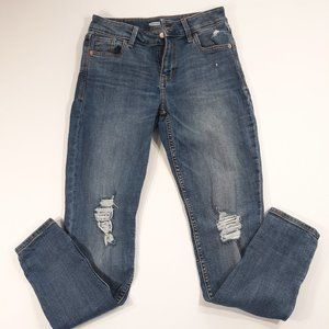 Old Navy Size 4 Rockstar Supper Skinny Blue Jeans